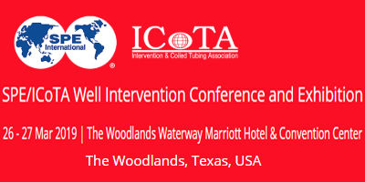 SPE/ ICoTA - Well Intervention Conference and Exhibition