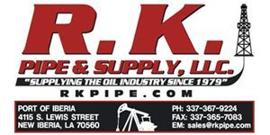 <strong>RK Pipe & Supply LLC</strong> - New Iberia, LA - (337) 367-9224